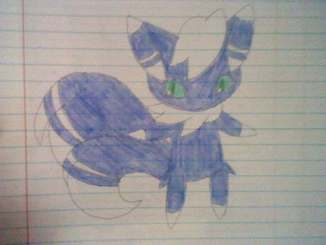 Meowstic (Male) by TheTwistedPuppy