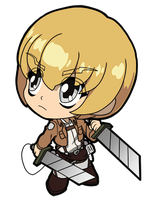 Attack on Titan Armin by JoeOiii