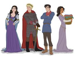 Merlin the Animated Series by ggns