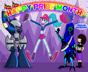 Happy Pride Month! by TheBig-ChillQueen