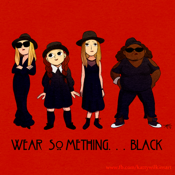 Wear something....black by KathrynWilkins