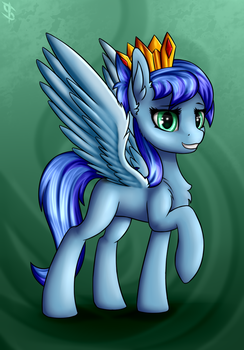 Unnamed OC #4 [commission] by 6EditoR9