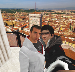 AlexDes - In Florence by lizathehedgehog