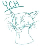 Cat YCH! {OPEN} by god-dogg