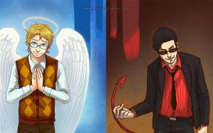 Good Omens: All Part of the Divine Plan by Innocent-raiN