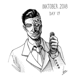 Inktober 2018 (Day 19) by Davide-Bondi