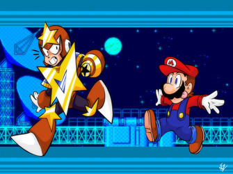 You got the wrong StarMan, Mario! by NkoGnZ