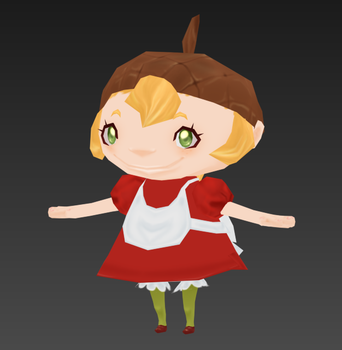 Low Poly Model: Dolce by CandyRobot