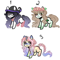 MLP-Random Adoptables (3/3) CLOSED by TreeGreen12
