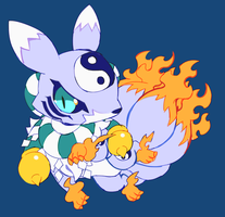youkomon by extyrannomon