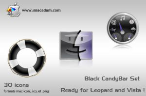 Black CandyBar Set by isb
