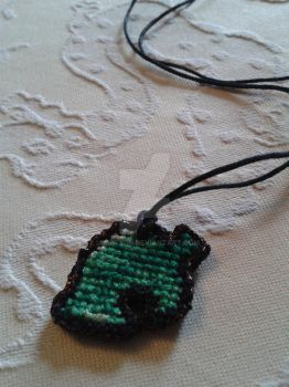 Animal crossing necklace by iamatwin