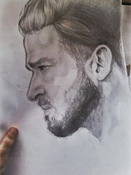 Justin Timberlake Portrait by armorjet