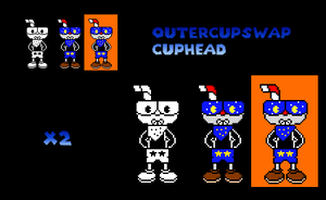 OuterCupSwap Cuphead by PhillyCheeseStake