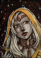 The drow by Bloodrawen