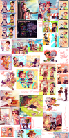 30 Days Otp Challenge doodles compilation!! by Kiekyun