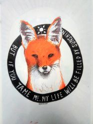 The Little Prince: Fox by NereaM