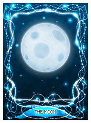 The Moon Tarot Card by merrypranxter