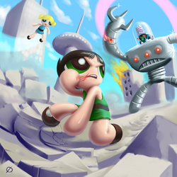 The eff you just did Mojo Jojo by average-artist