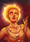 Astral Girls : Sun by Lily-Fu