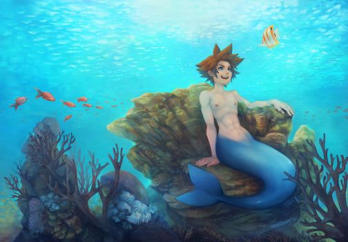 Mermay Sora by Remainaery