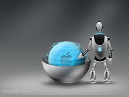 The Apple Robot by dynamicmk