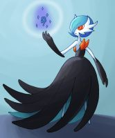 Poke-a-day: Gardevoir by VacantWhale