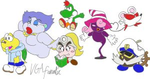Partners in Paper Mario 2 by VGAfanatic
