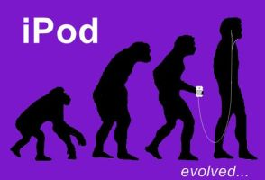 iPod-evolved by krispykrunchy