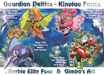 Guardian Deities Kinolau Form (collab) by gimbo-gp