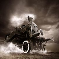 Ghost train by EdSinger