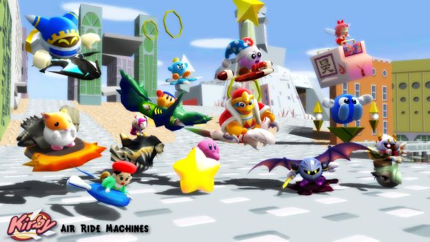 (MMD/XPS Models) Air Ride Machines Download by SAB64
