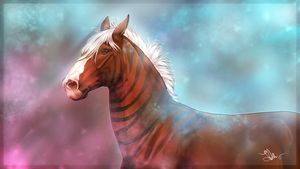 .: | Colourful stallion power | :. by Pashiino