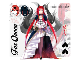 [CLOSED] Fox Queen ADOPTABLE by Natx-chan