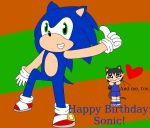 Happy Birthday Sonic (and me) by LunarGirl2z