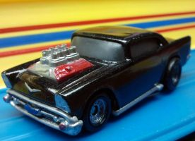 57 Chevy Custom by happymouse666