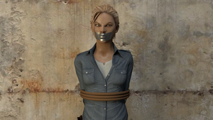 Elena Fisher in Distress 2 ANIMATION by TheBlenderTaper