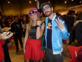 Pokemon Trainer Girl and Boy [Mangafest-14] by DrPingas