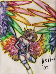Revise Warrior Ami by Thehalfassedmuse