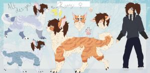 Roryi reference sheet -Current- by Uki-U