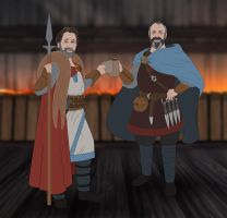 The Banner Saga: Off the Beaten Path - Harebrains by EternalAnomaly