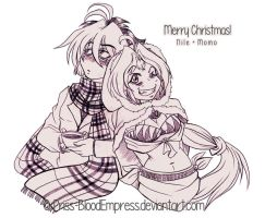 BeyMF::. Christmas Doodle by Priss-BloodEmpress
