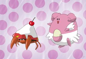 Blissey Eat Parasect.