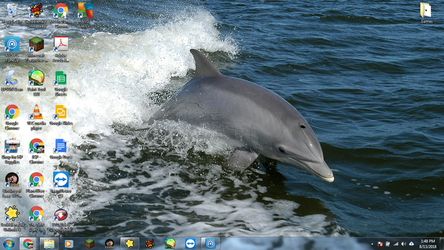Windows 7 Desktop: Dolphin by jcpag2010