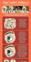 Eye shading tutorial by GalooGameLady