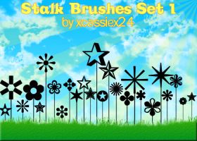 Stalk Brushes Set 1 by xCassiex24