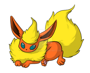 Flareon by Rienquish