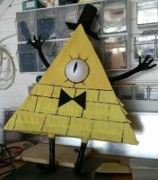 Bill Cipher Pinata by SydVC
