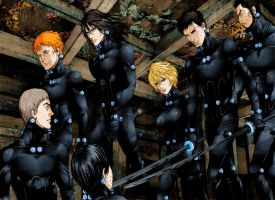 GANTZ 354 Neo Team Tokio Survive by BrkHeaven