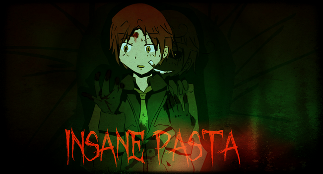 Insane Pasta old cover by Rozelia